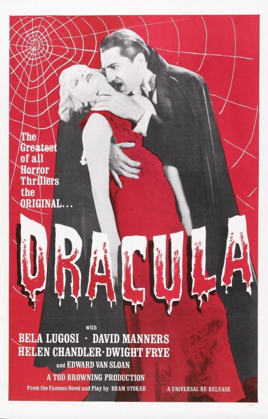 Dracula 1960s one sheet