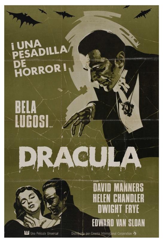 Dracula 1971 Spanish one sheet