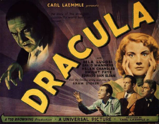 Dracula 22 x 28 poster