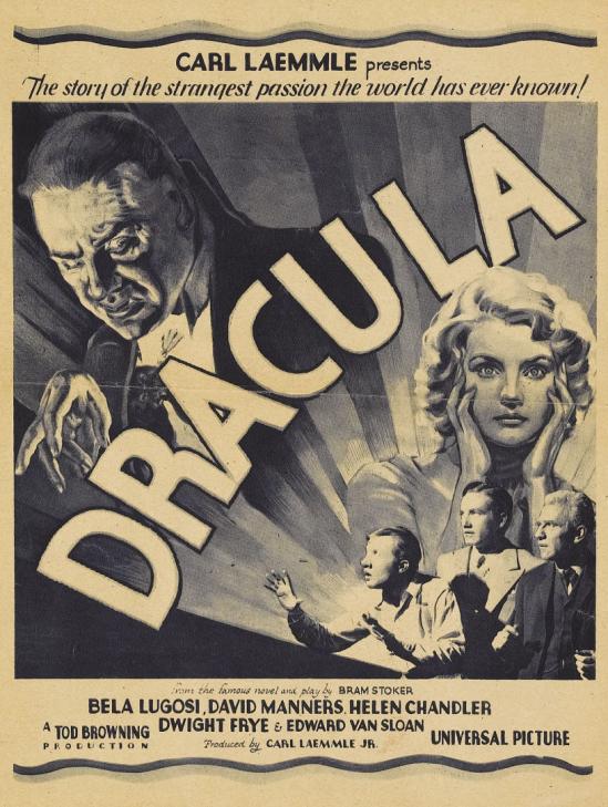 Dracula 8 X 10.5 Herald 1