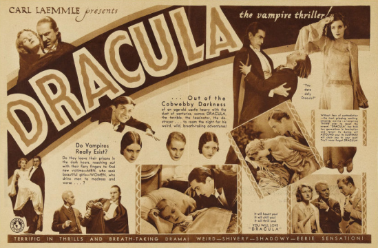 Dracula 8 X 10.5 Herald 2