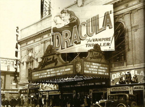 Dracula at the Stanley, Kennedy Boulevard, Jersey City