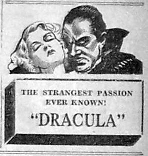 Dracula, May, 1931
