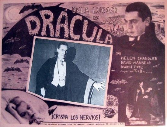 Dracula Mexican Lobby Card 1
