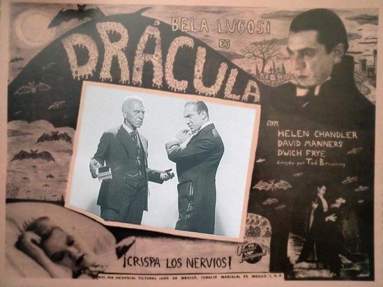 Dracula Mexican Lobby Card 2