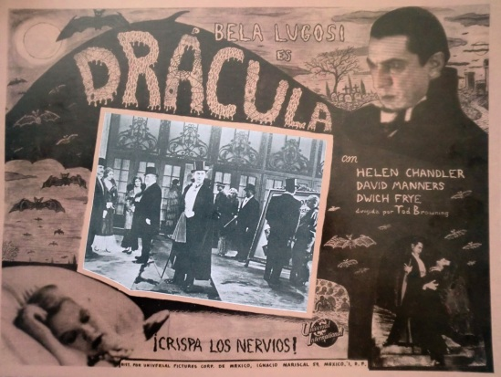 Dracula Mexican Lobby Card