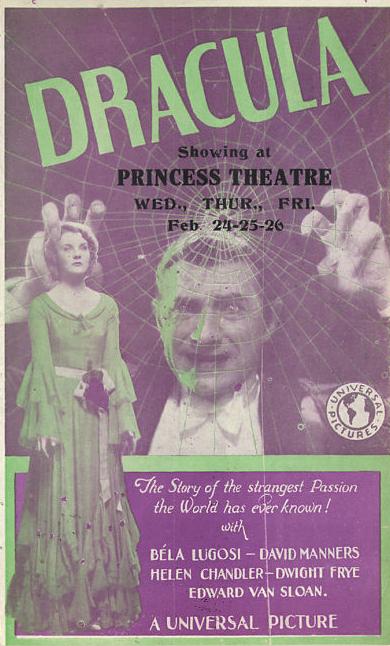 Dracula Princes Theatre Herals 1