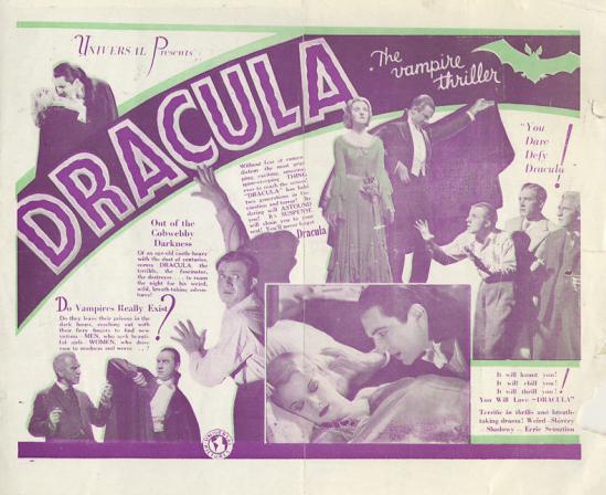Dracula Princes Theatre Herals 2