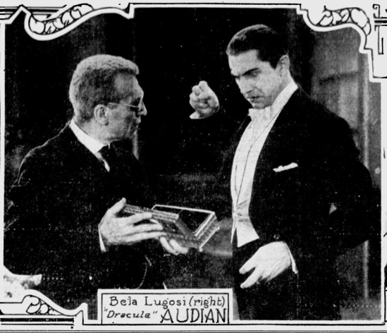 Dracula. Spokane Daily, April 10, 1931 1