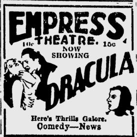 Dracula, Spokane Daily Chronicle, June 22, 1931
