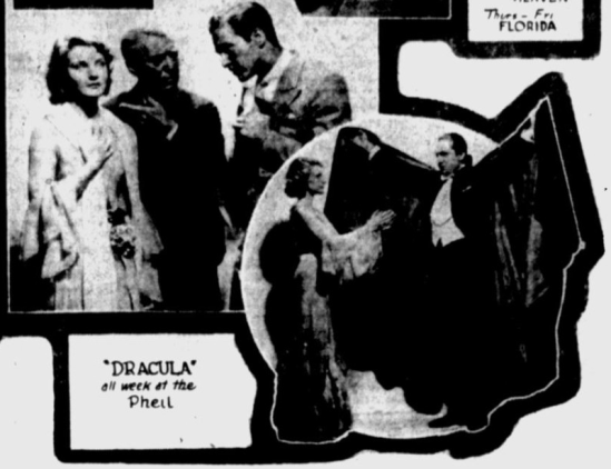 Dracula, St. Petersburgh Times, February 22, 1931 2