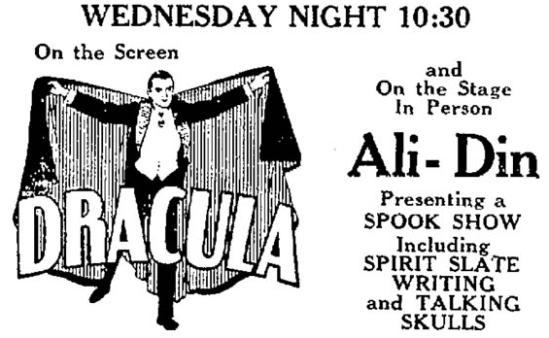 Dracula, The Kingsport Times, June 12, 1931 1