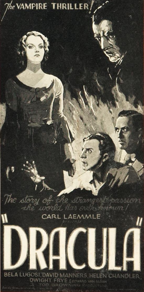 Dracula Three Sheet