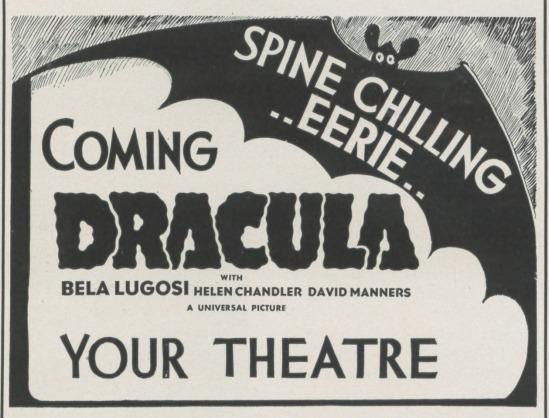 Dracula, Advertising 1