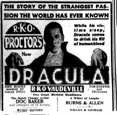 Dracula Unknown Newspaper 1