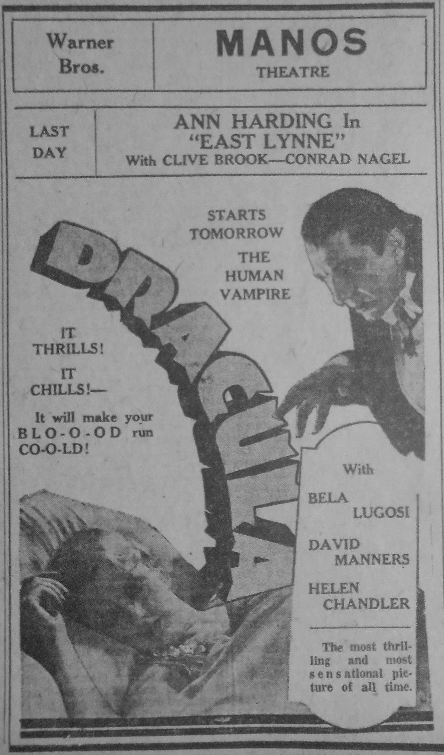 Dracula Unknown Newspaper 13