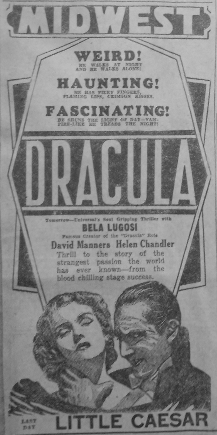 Dracula Unknown Newspaper 16