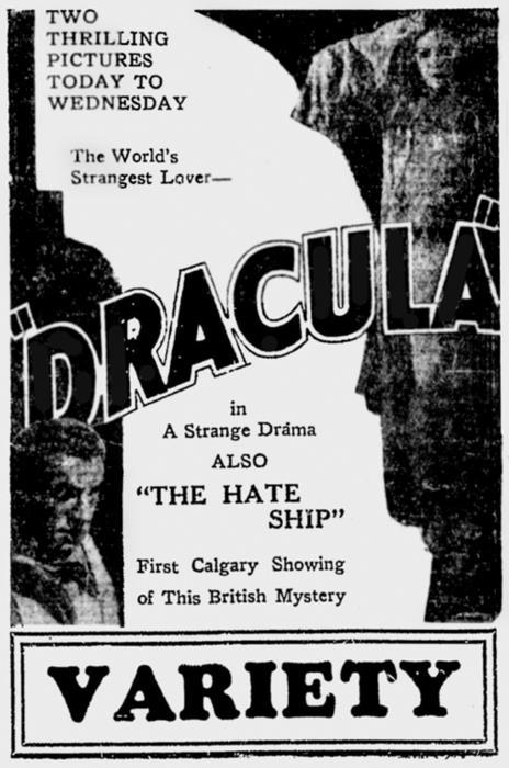 Dracula Unknown Newspaper 18