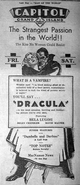 Dracula Unknown Newspaper 21