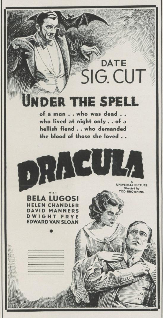 Dracula Advertising 2