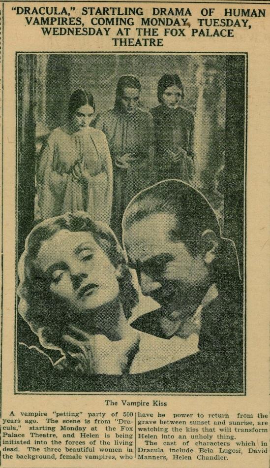 Dracula Unknown Newspaper 7