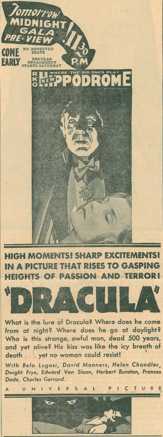 Dracula Unknown Newspaper 9