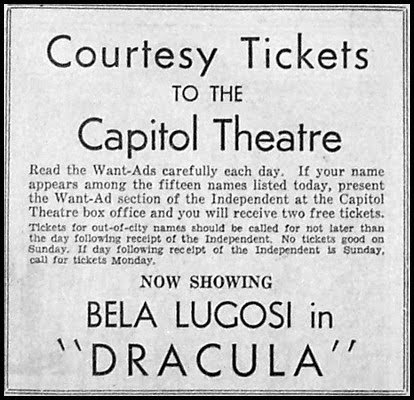 Dracula, Unknown Newspaper