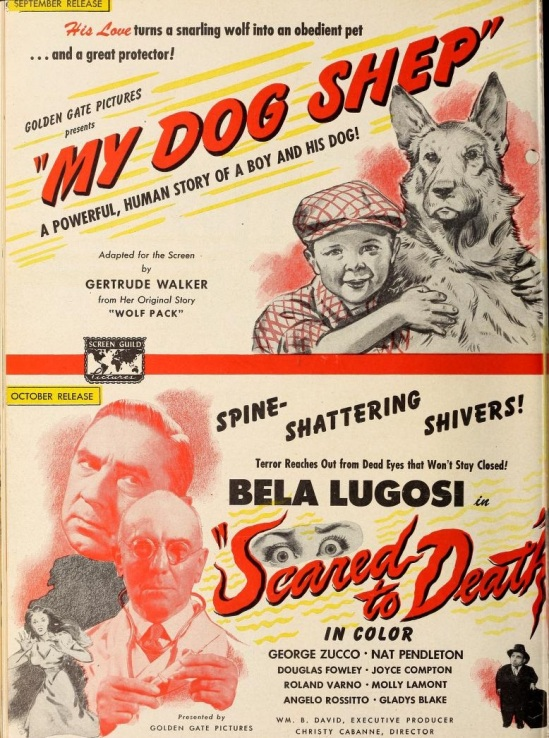 Scared To Death Film Daily, June 17, 1946