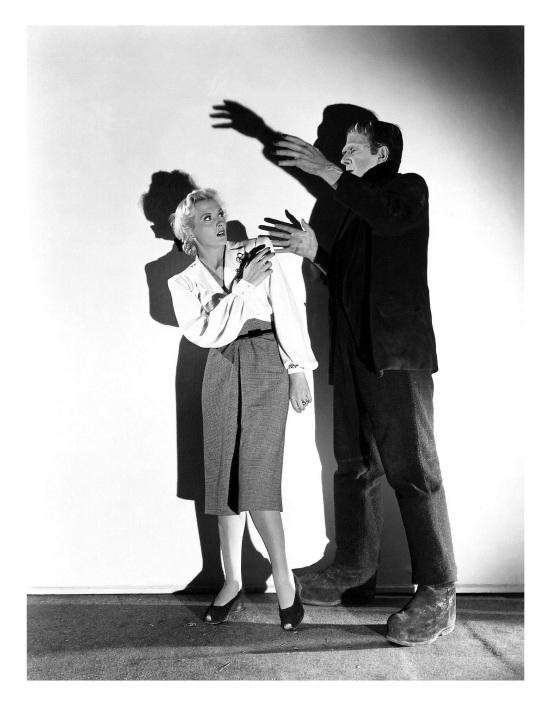 Frankenstein Meets The Wolf Man 1