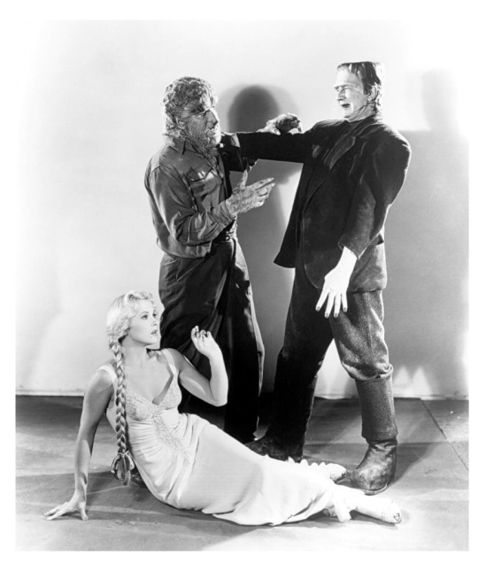 Frankenstein Meets The Wolf Man 5