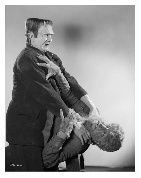Frankenstein Meets The Wolf Man 7