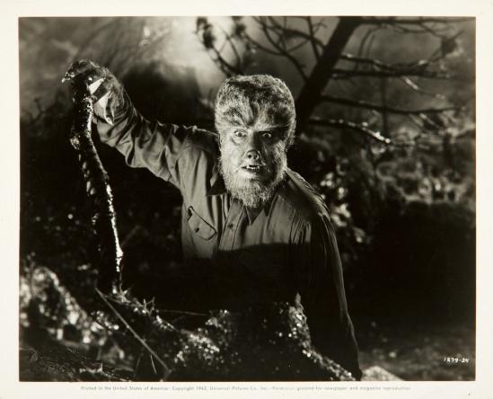 Frankenstein Meets The Wolfman Still