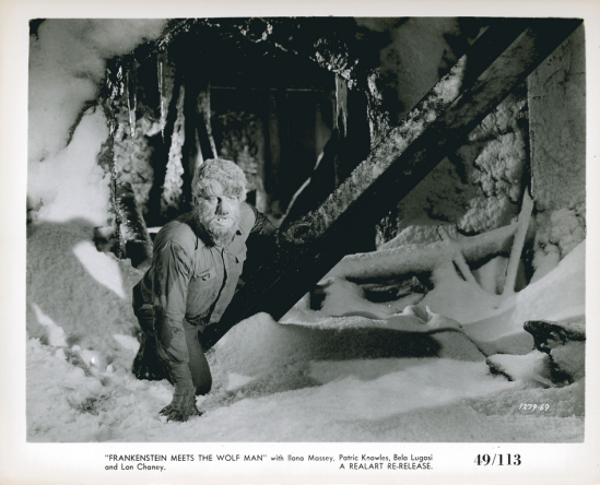 Frankenstein Meets The Wolfman Stillb