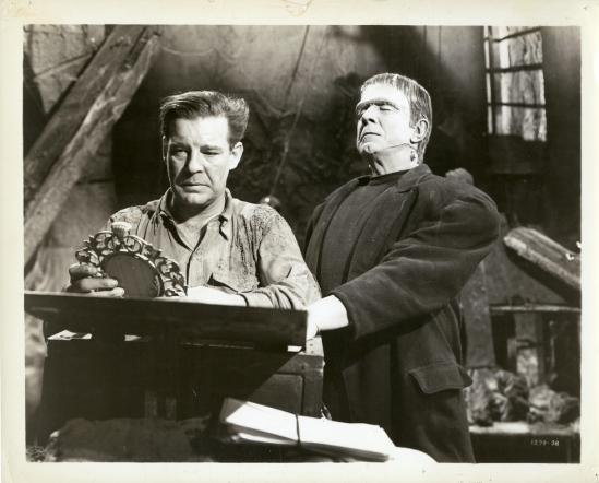 Frankenstein Meets The Wolfman Stillc