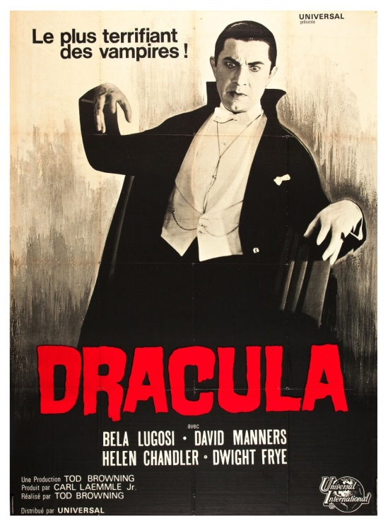 Dracula French 1966 Re-Release Grande