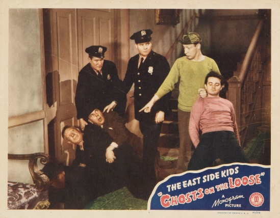 Ghosts On The Loose Lobby Card 6