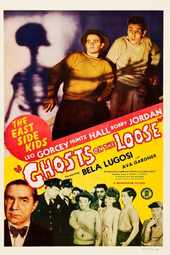 Ghosts On The Loose One Sheet