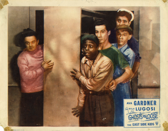 Ghosts On The Lose 1948 Re-Releases Lobby Card 4