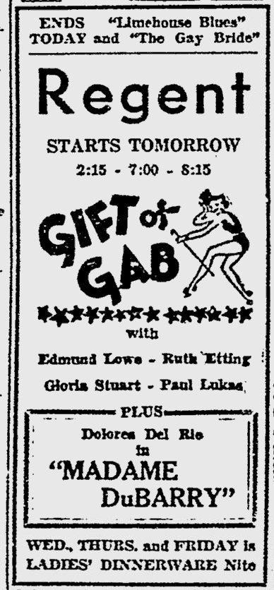 Gift of Gab, The Norfolk Hour, January 29, 1935 b