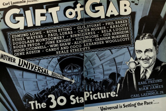 Gift of Gab Trade Ad