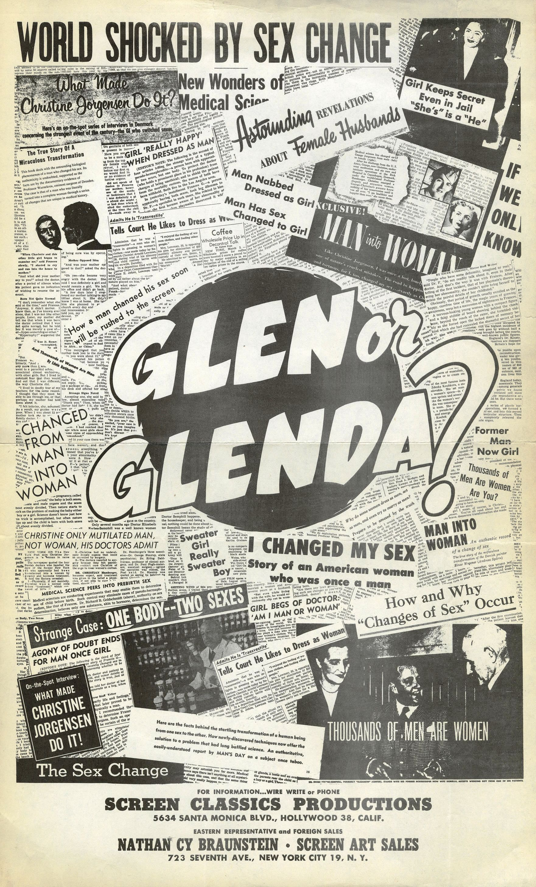 Image result for glen or glenda