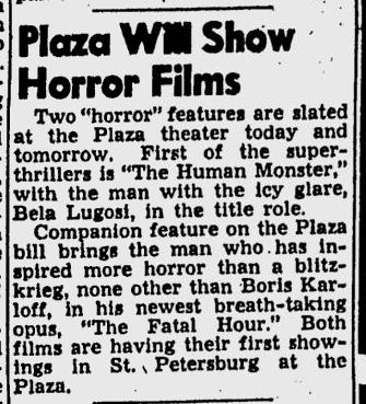 Human Monster, St. Petersburgh Times, July 10, 1940 2