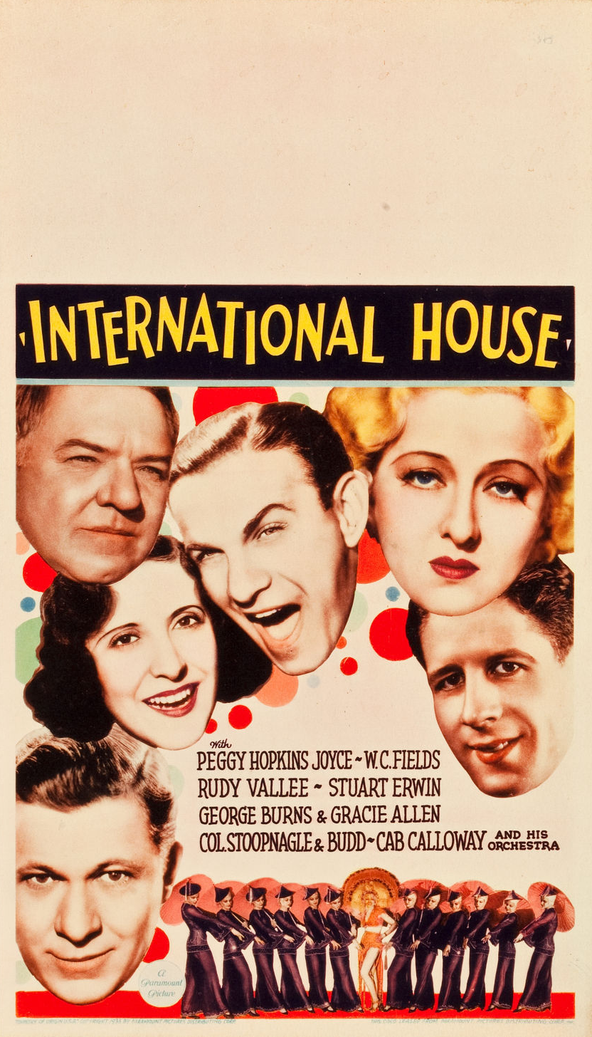 International house paramount pictures 1933 the bela for International housse