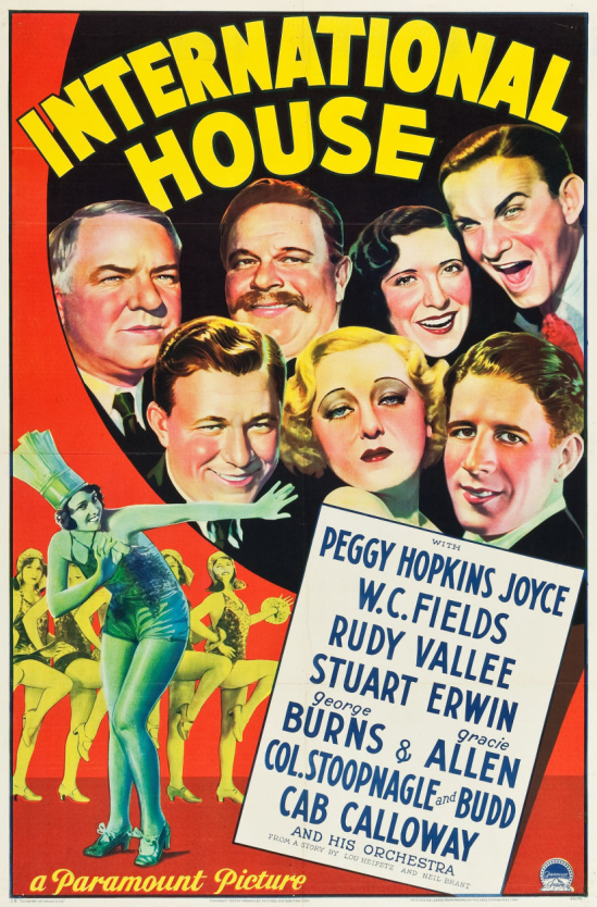 International House One Sheet