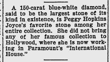 International House, The Evening Independent, February 22, 1933