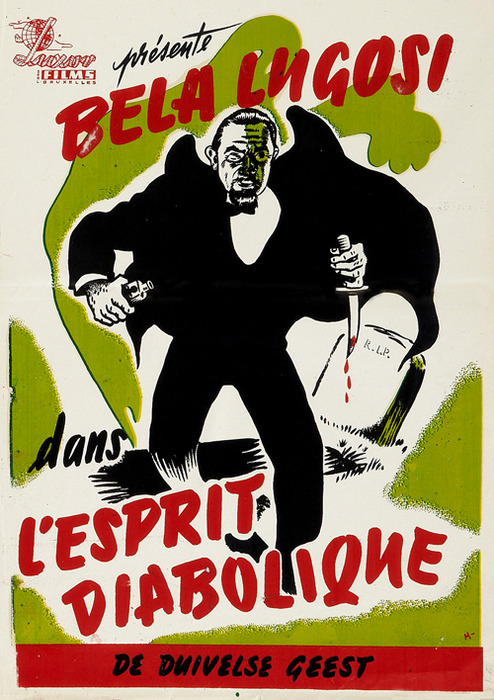 Invisible Ghost - Belgian Poster