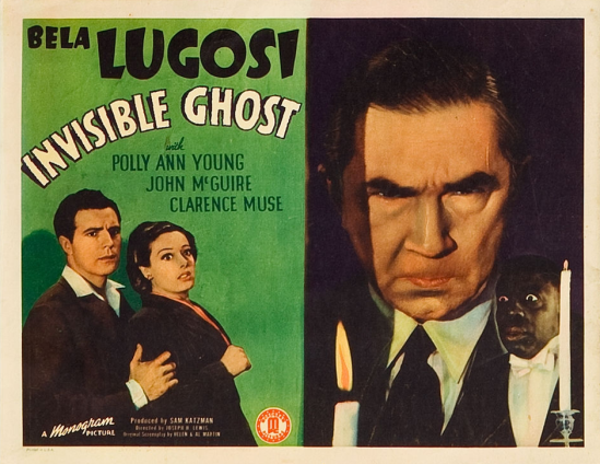 Invisible Ghost Lobby Card 1