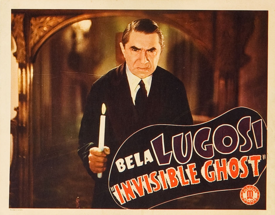Invisible Ghost Lobby Card 2
