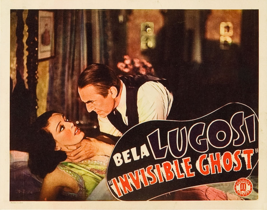 Invisible Ghost Lobby Card 3