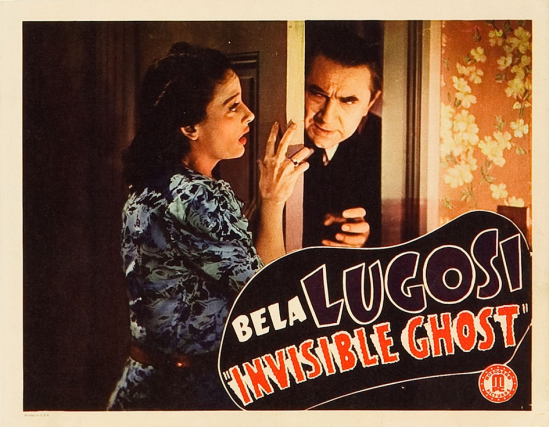 Invisible Ghost Lobby Card 4